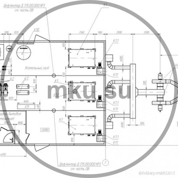 Модульная котельная 3 МВт план